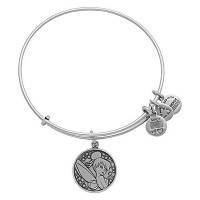 Disney Parks Alex and Ani Tinker Bell Silver Bracelet by Alex and Ani [並行輸入品]