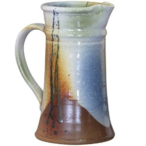 Handmade Glazed Stoneware Pitcher by Kiltrea Pottery Ireland. Holds 34oz (1litre) 100% Lead Free by...