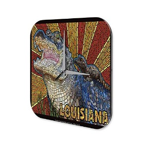 壁時計 wall clock Wall Decor Adventurer Louisiana Acryl Plexiglass