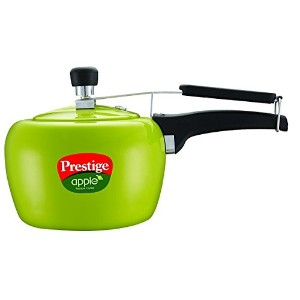 Prestige Apple Aluminum Green Color Pressure Cooker, 5-Liter [並行輸入品]