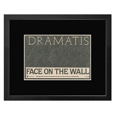 Dramatis - Face On The Wall Framed Mini Poster - 44x33.5cm