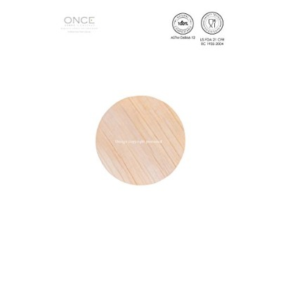 ONCE : Exquisite Single-use Tableware - PLAIN COASTER – Round / ONCE:優れた使い切り食器 - プレーンコースター―丸型
