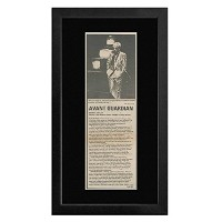 Robert Ashley - Private Lives 1981 Review Framed Mini Poster - 40x23cm