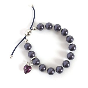 [SWAROVSKI] Purple Pearl Charm Set 5006471 [並行輸入品]