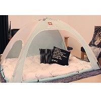 Swiss Military Hotzzang One-Touch Heating Tent 暖房テント 室内テント 冬のテント ベッドテント ワンタッチテント 風防テント (1~2人用, ミント)...