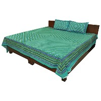 Geometrical print Double Bedsheet Bed Spread