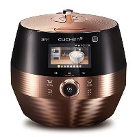 Lihom CUCHEN CJH-PC1004iCT 10 Cups IH Pressure Smart Rice Cooker Black&Gold Plus English Simple...