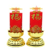 Pair of Good Luck Candles