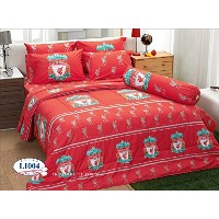 Liverpool Football Club Official Licensed Bedding Set, Fitted Sheet, Pillow Case, Bolster Case,...