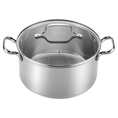 T-fal Performa 4.7l. Stainless Steel Round Dutch Oven
