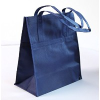 ダースNavyブルー不織布Recycle Grocery Bags