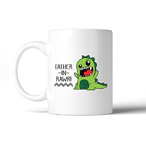 365 Printing Father-In-Rawr 11oz Ceramic Coffee Mug Funny Gift For Father In Law