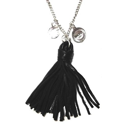 CAT HAMMILL ネックレス Leather necklace black