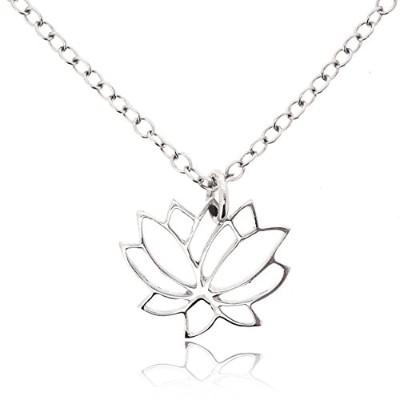 Sovats Woman Lotus Flower Necklaceソバッツウマンロータスフラワーネックレス