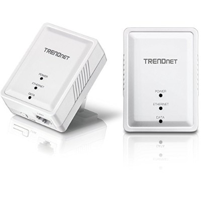 TRENDnet Powerline 500 AV Nano アダプターキット/ 500Mbps Compact Powerline AV Adapter Kit [TPL-406E2K]