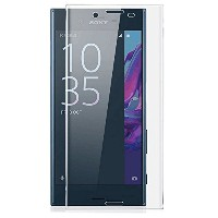 COLIN【曲面 3D】Sony Xperia XZs フィルム Xperia XZs 強化ガラスフィルム 3D 9H Xperia XZs 液晶保護フィルム