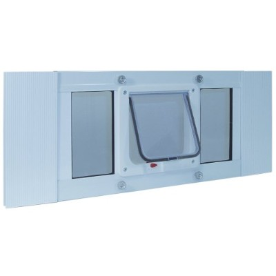 Ideal Pet Products Sash Cat Flap Small Pet Door, 23 to28-Inch by Ideal Pet Products