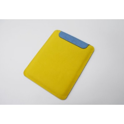 【スタンド機能付きスリーブケース】 Color Stand Sleeve Case for All version of iPad [Pelican Case] ブルーXイエロー DCS...