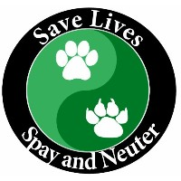 E & S Pets Car Magnet, Save Lives, Spay and Neuter by E&S Pets