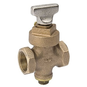 "Mueller/B & K105-904NLGround Key Stop And Drain-3/4"" KEY STOP VALVE (並行輸入品)"