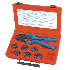 SG Tool Aid SGT18960 QUICK CHANGE RATCHETING TERMINAL CRIMPING KIT