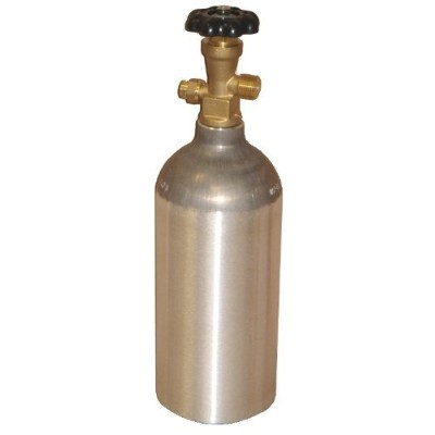 Luxfer CO2 2.5 LB Aluminum Cylinder Tank CGA 320 Valve by Luxfer