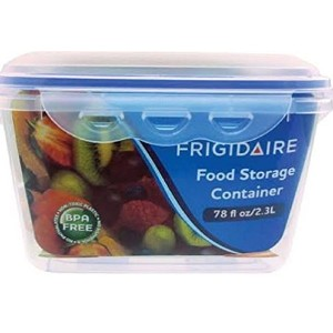 Frigidaire 2.4 Quart Storage Container Case of 1 / 2 pieces container and lid by Frigidaire