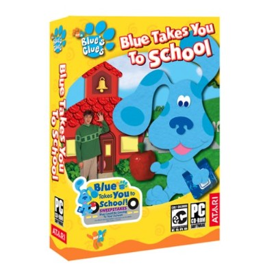 Blues Clues: Blue Takes You To School (輸入版)