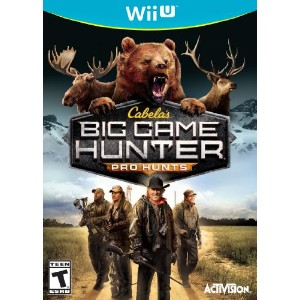 Cabelas Big Game Hunter Pro Hunts Nla