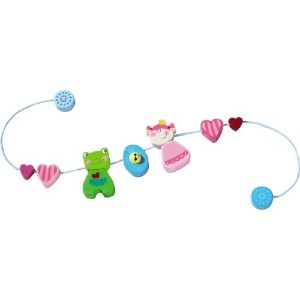 Heart Princess Pram Decration by HABA