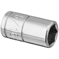 SK Hand Tool 40910 0.25 in. Drive, 6-Point Standard Fractional Socket - 0.3 1 in.