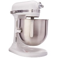 KitchenAid 8 Qt Commercial Bowl Lift Stand Mixer (NSF Certified) - KSM8990WH - White 並行輸入品
