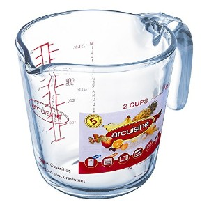 Arcuisine Glass 16.9 Ounce Measuring Cup by International Cookware