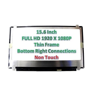 """Chi Mei N156hge-ebb Rev.b1 Replacement LAPTOP LCD Screen 15.6"""" Full-HD LED DIODE (Substitute..."""