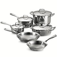 Tramontina 80101/202DS Gourmet Prima 10 Piece Cookware Set by Tramontina