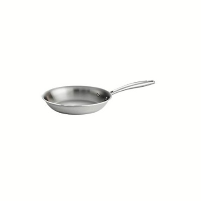 Tramontina 80116/004DS Gourmet 18/10 Stainless Steel Induction-Ready Tri-Ply Clad Fry Pan, 8-Inch,...