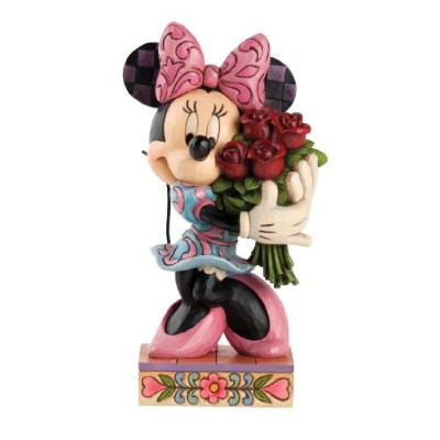 Enesco(エネスコ) Disney Traditions Minnie Mouse with Roses 4031480 [並行輸入品]