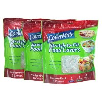 Covermate Stretch-to-fit Food Covers by Covermate