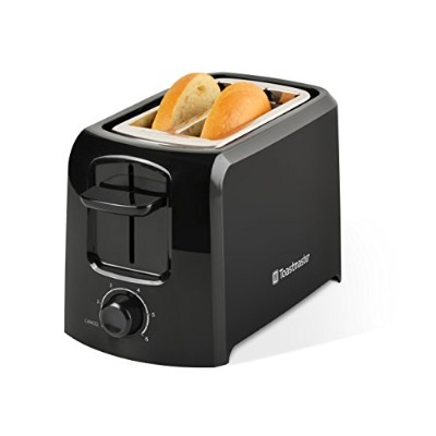 Toastmaster TM-24TS 2-Slice Cool Touch Toaster, Black by Toastmaster