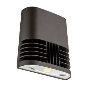 Lithonia Lighting OLWX1 LED 13W 40K M4 LED Wall Pack, Dark Bronze by Lithonia Lighting