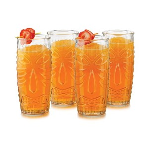 Libbey 4 Piece Perfect Collection Tiki Set, Clear by Libbey