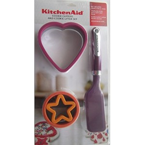 KitchenAid Cookie Cutters & Cookie Lifterセット: Plum /パープルラズベリー/タンジェリン