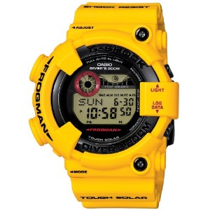 [カシオ]Casio 腕時計 G-SHOCK 30th Anniversary Lightning Yellow Series FROGMAN ソーラーウォッチ 【数量限定】 GF-8230E...