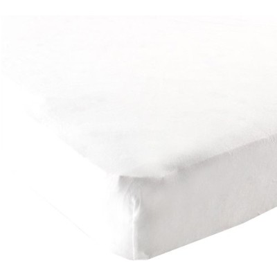 Luvable Friends Fitted Pack N Play Sheet, White by Luvable Friends