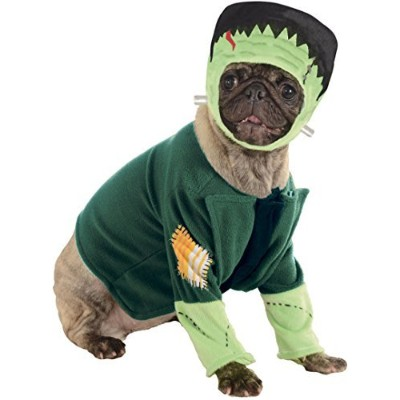 Classic Movie Monsters Pet Costume, Small, Frankenstein by Rubie's