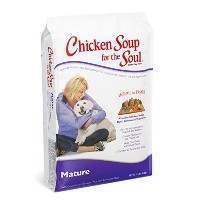 Chicken Soup for The Soul Mature Care Adult Dry Dog Food Pet Formulated 15lbs