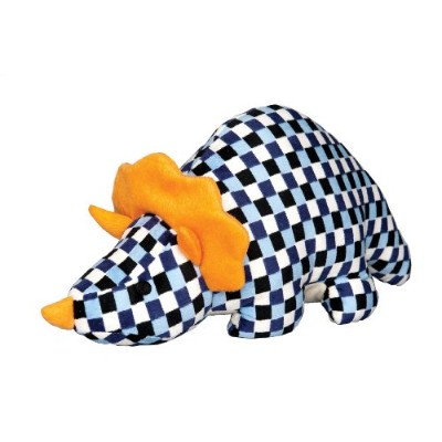 Patchwork Pet Dino Big Squeaker Plush Dog Toy, 20-Inch, Blue by Patchwork Pet