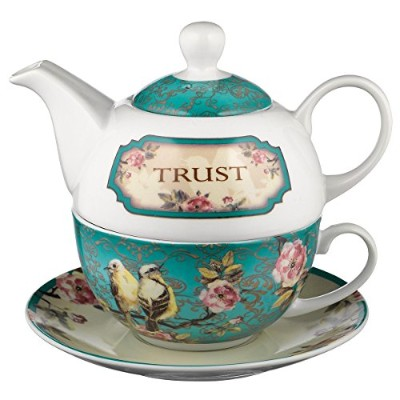 Trust in the Lord Collection Tea-for-One Set - Proverbs 3:5 by Christian Art Gifts