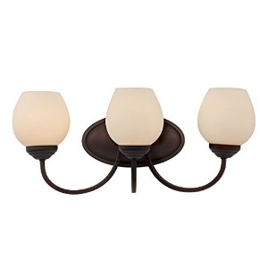 Trans Globe Lighting Clarissa Triple Wall Sconce, Rubbed Oil Bronze by Trans Globe Lighting