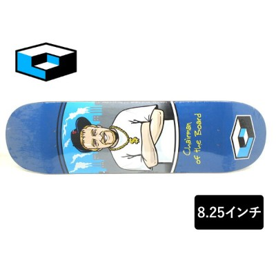 CONSOLIDATED スケートボード デッキ 8.25インチ 【 CHAIRMAN OF THE BOARD 】 スケボー コンソリデイテッドSKATEBOARD DECK
